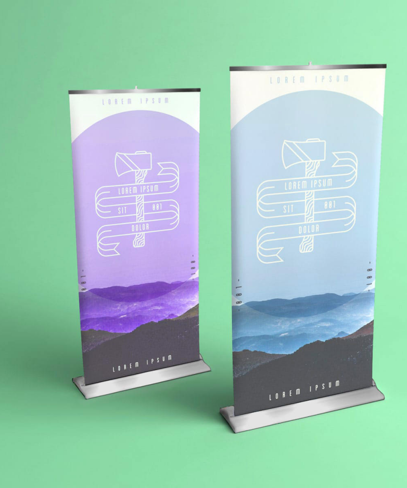 Banners and Roll up Banners